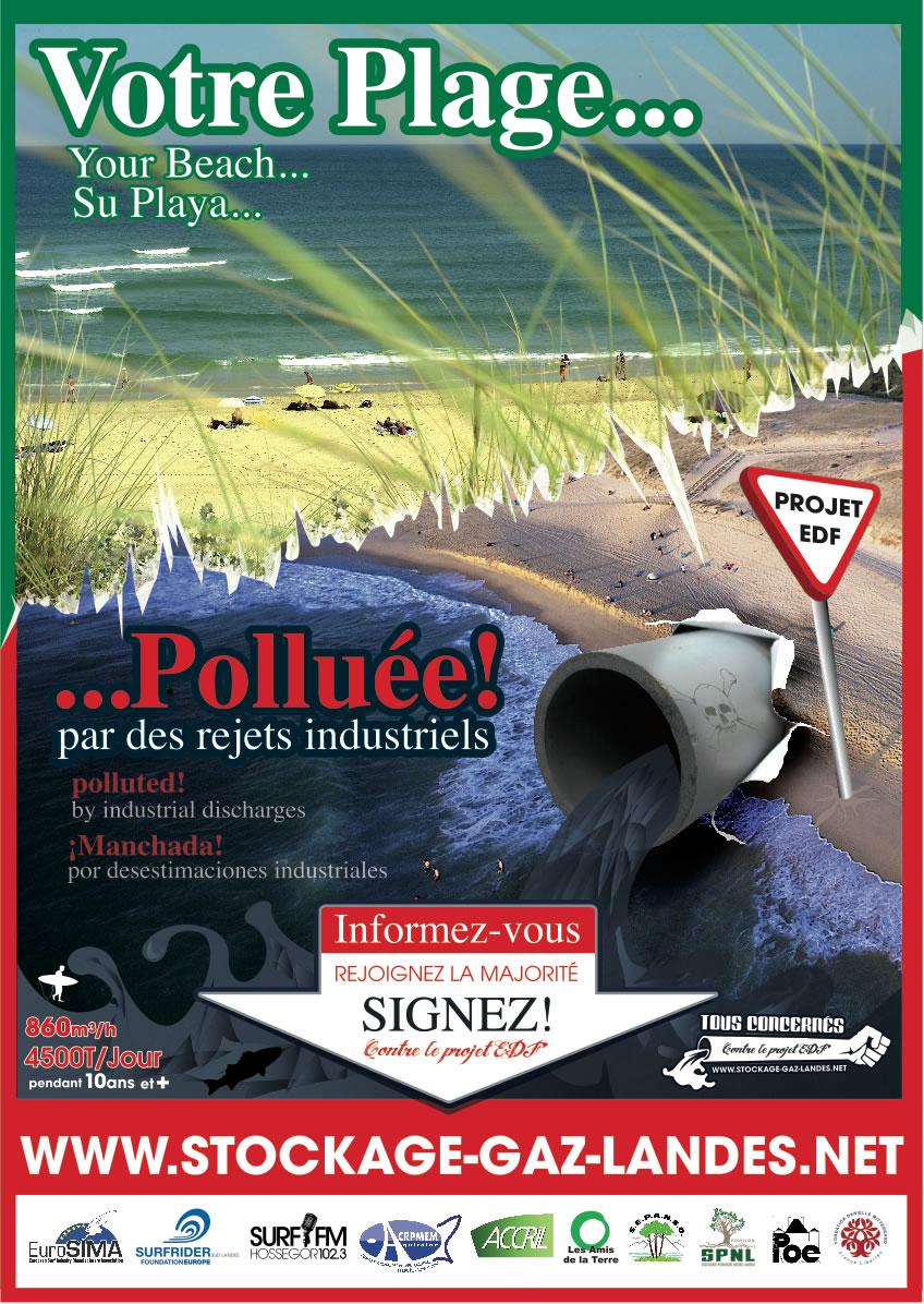 Com d'été contre le projet d'EDF - Salins des Landes - www.stockage-gaz-landes.net