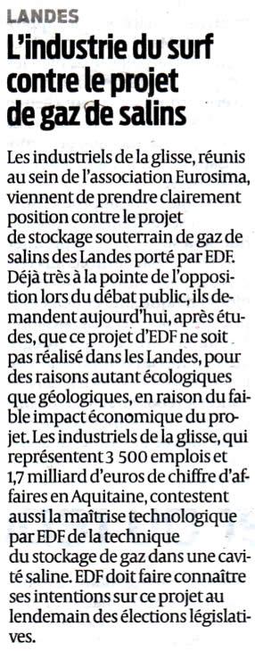 EuroSIMA stockage-gaz-landes.net contre Salins des Landes