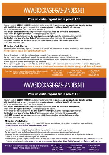 Pour un autre regard - www.stockage-gaz-landes.net