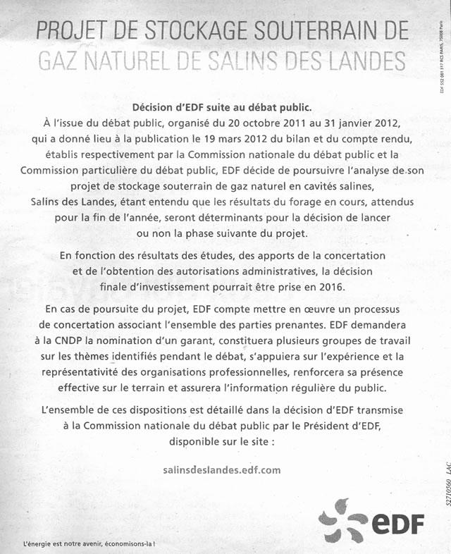 Salins des Landes - stockage-gaz-landes.net