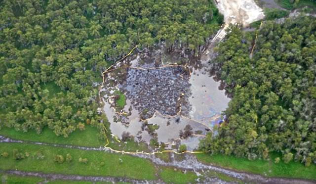 effondrement d'une cavité-salines - stockage-gaz-lande.net - louisiana sinkhole